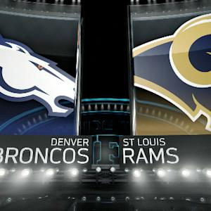 'Inside the NFL': Denver Broncos vs. St. Louis Rams highlights