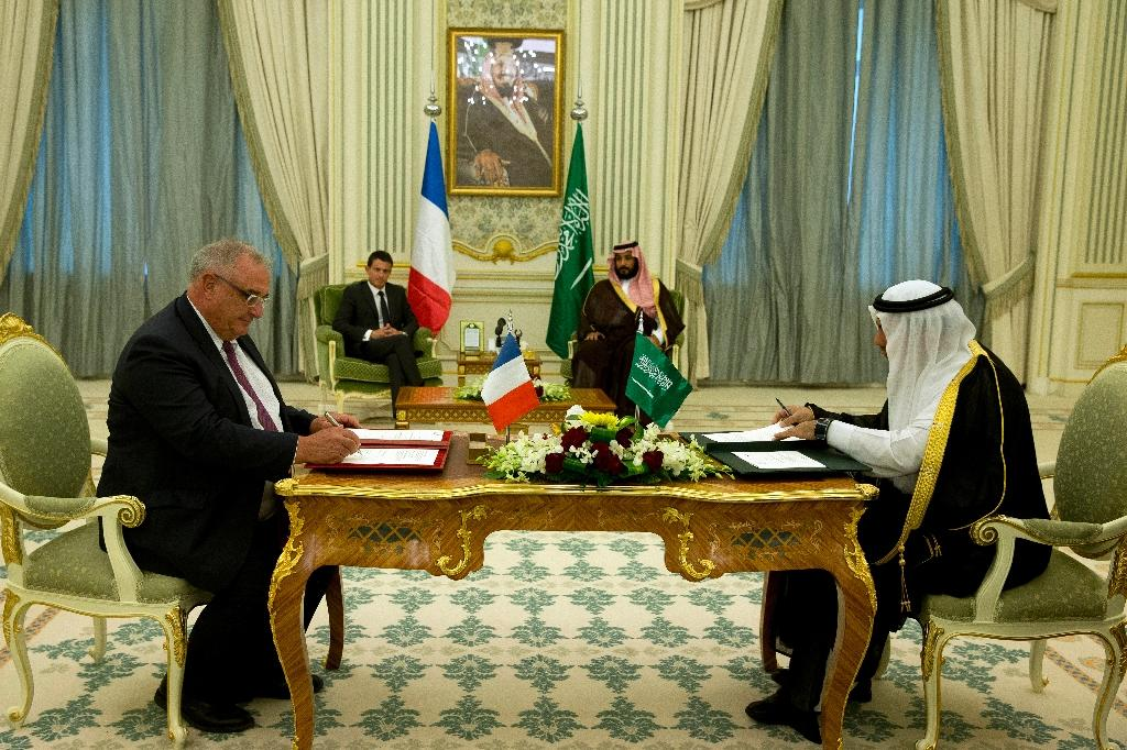 France in deals worth $10 bn with Saudi Arabia