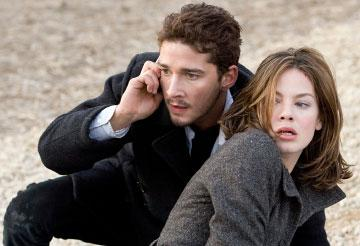 Shia LaBeouf and Michelle Monaghan in DreamWorks Pictures' Eagle Eye
