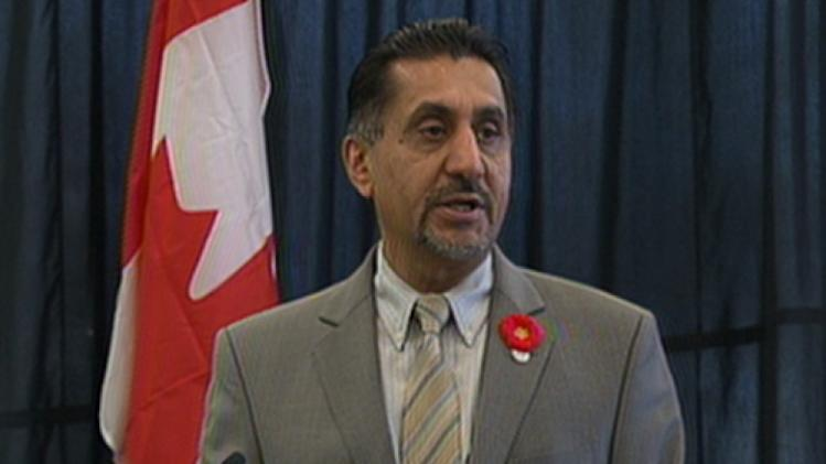 Bal Gosal, the minister of state for sport, announced nearly $1 million in new funding for a telephone tip line to report athletes suspected of using performance-enhancing drugs.