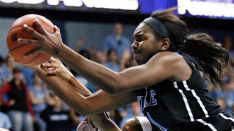 NCAA Womens Basketball: Duke at North Carolina