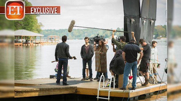 Exclusive &#39;Vampire Diaries&#39; Behind The Scenes Look