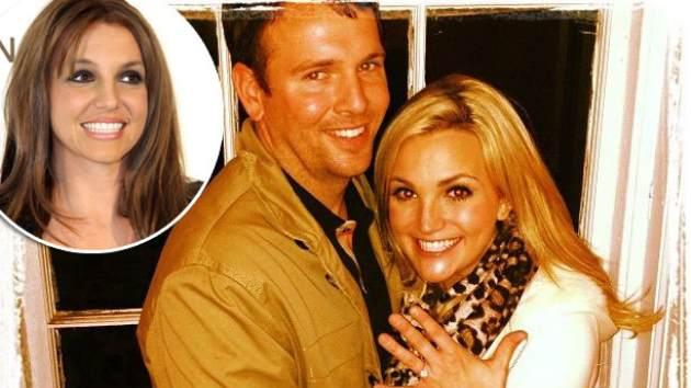 Jamie Watson and Jamie Lynn Spears - March 2, 2013 / inset: Britney Spears -- Instagram
