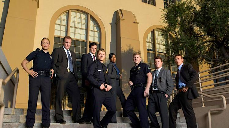 "The cast of ""Southland."""