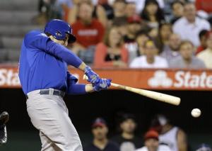 Rizzo hits 3-run double in 10th, Cubs beat Angels
