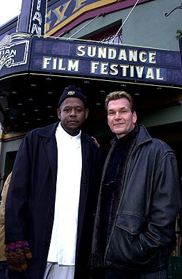 Forest Whitaker and Patrick Swayze of Green Dragon