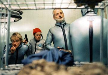 Owen Wilson , Willem Dafoe and Bill Murray in Touchstone Pictures' The Life Aquatic with Steve Zissou
