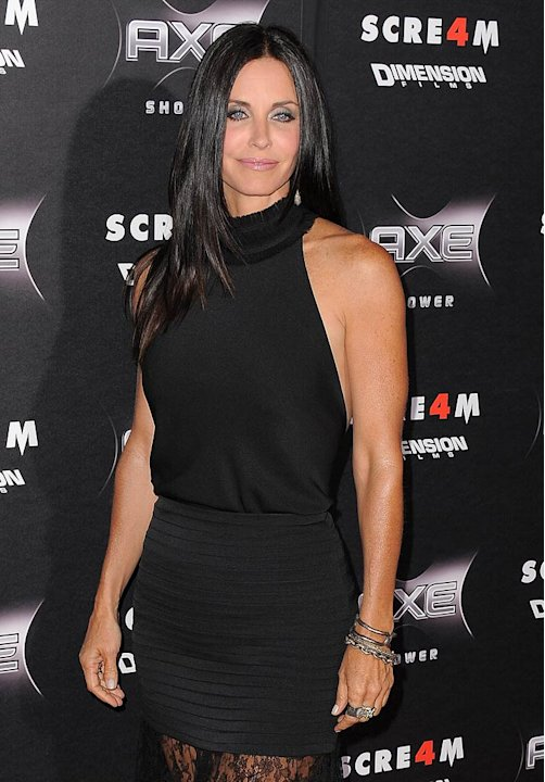 Courteney Cox Scream Pr