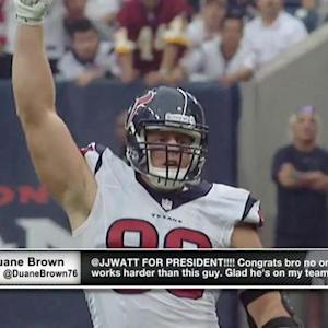 McGinest: Houston Texans defensive end J.J. Watt could play in any era