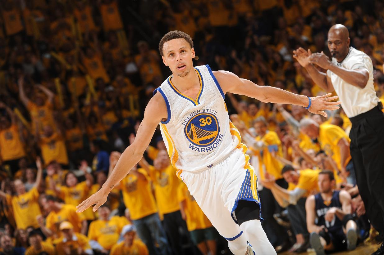 Warriors' Stephen Curry named 2014-15 NBA MVP