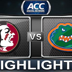 Florida State vs Florida | 2013 ACC Football Highlights