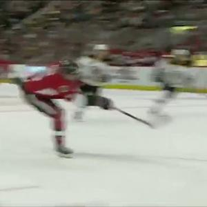 Bobby Ryan steals and scores on Rask