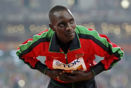 Kiprop hat-trick puts Kenya on top in Beijing