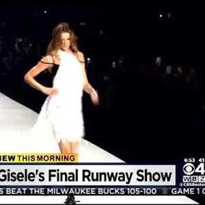 Gisele Bundchen Walks Runway For Final Time, Tom Brady Sits Front Row