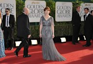 Frances Fisher arrives at the 70th Annual Golden Globe Awards at the Beverly Hilton Hotel on Sunday Jan. 13, 2013, in Beverly Hills, Calif. (Photo by John Shearer/Invision/AP)