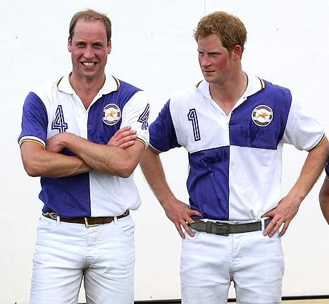 "Prince William All Smiles at Polo Match, ""Very Excited"" for Baby With Kate Middleton"