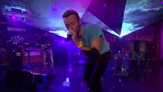 Every Teardrop Is A Waterfall (Live on Letterman)