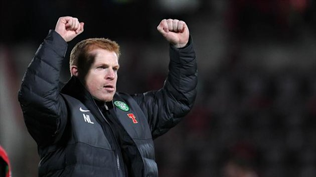 Neil Lennon saw his Celtic side crush Dundee United