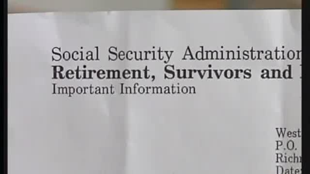 Senior Says Someone Stole His Social Security