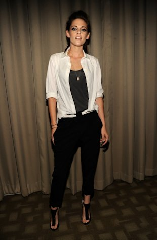 Kristen Stewart poses at a screening of &#39;On The Road&#39; at Disney Park Avenue on September 10, 2012 in New York City -- Getty Images