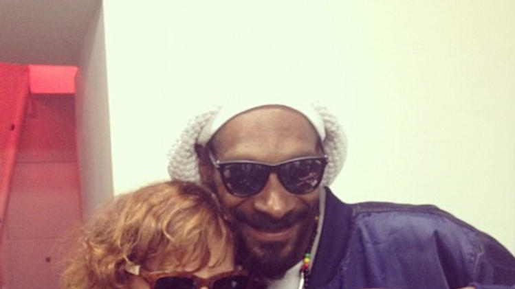 Susan Sarandon, Snoop Dogg