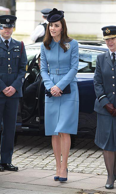 Kate Middleton style: The head-to-toe details of her Air Cadet engagement outfit