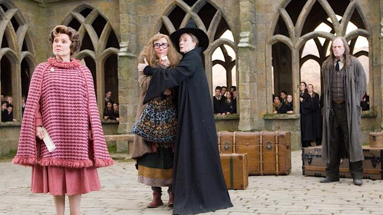 Harry Potter and the Order of the Phoenix 2007 Warner Bros. Pictures Imelda Staunton Emma Thompson Maggie Smith