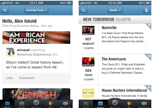 Viggle, GetGlue Lead Way in New Era of Social TV image GetGlue screenshot