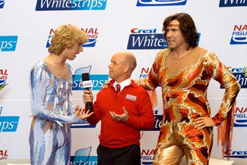 Jon Heder , Scott Hamilton and Will Ferrell in DreamWorks Pictures' Blades of Glory
