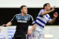 Chelsea captain John Terry (L) and Queens Park Rangers&#39; Anton Ferdinand during an FA Cup match in January. During the trial, Terry admitted using the controversial words to Ferdinand during a match between Chelsea and Queens Park Rangers on October 23 last year