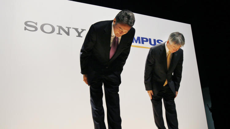Sony-Olympus alliance aims for high-tech surgery