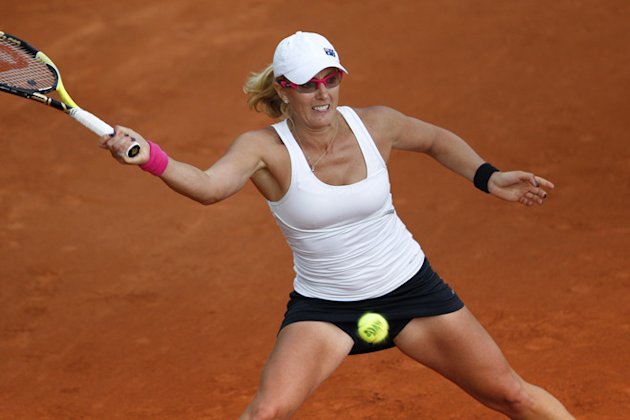 Australia's Anastasia Rodionova Hits AFP/Getty Images