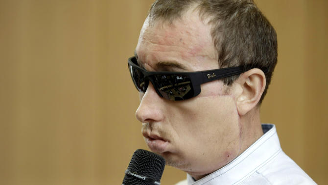 Poland's first face transplant patient goes home