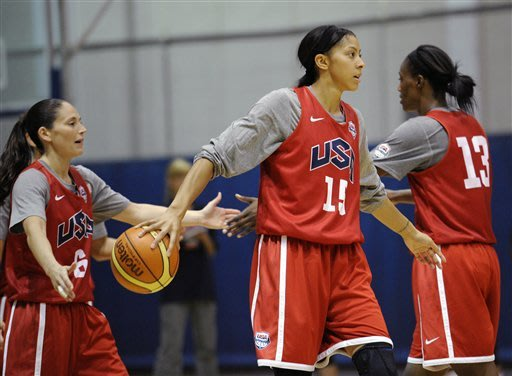Players go from WNBA rivals to Olympic teammates