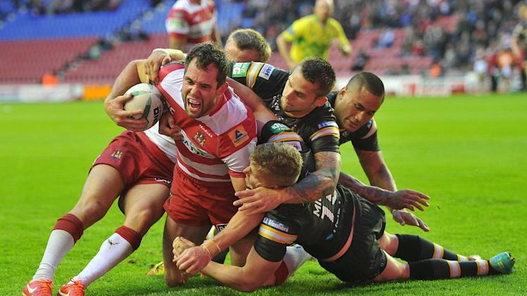 Rugby League - Super League - Wigan Warriors v Castleford Tigers - DW Stadium
