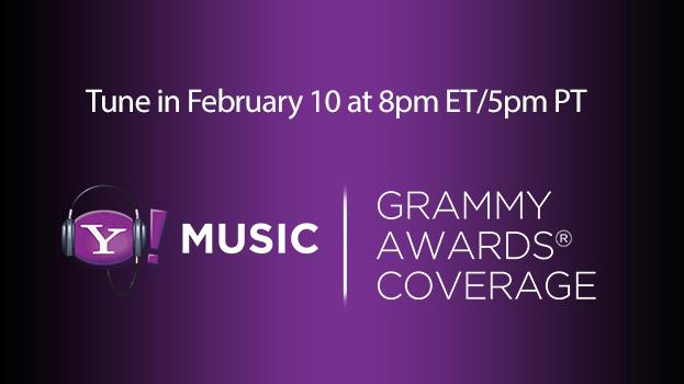 Yahoo! Music coverage of Grammys red carpet