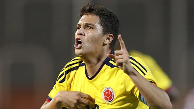 Colombia's Juan Quintero celebrates after scoring (Reuters)