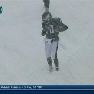 Philadelphia Eagles wide receiver DeSean Jackson 19-yard touchdown