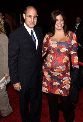 Stanley Tucci and sister 53rd Annual Emmy Awards - 11/4/2001