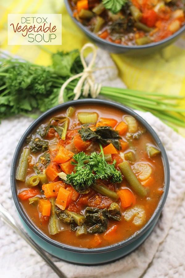 One pot dinners vegetable soup