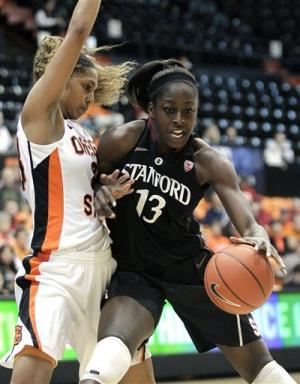 Ogwumike helps No. 4 Stanford women top Oregon St