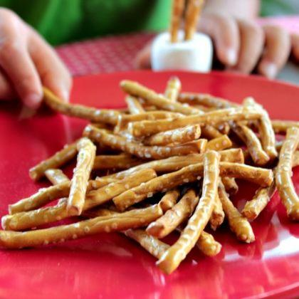 Edible Pick Up Sticks