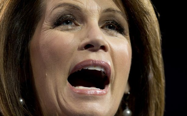 The guy running against michele bachmann isn't running anymore, either
