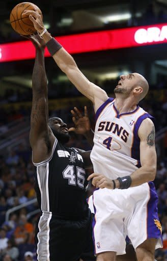 Spurs top Suns in Nash's possible Phoenix farewell