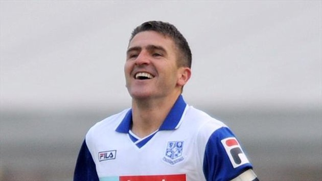 Ryan Lowe is celebrating after being named League One's Player of the Month