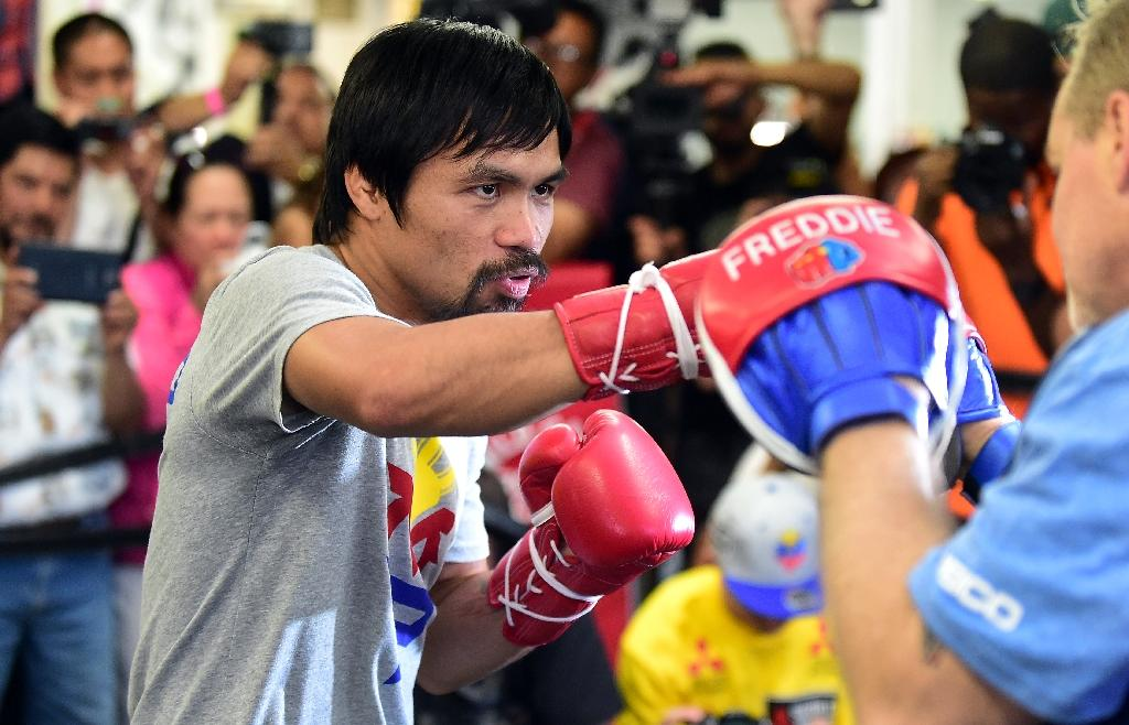 Pacquiao pleads for Indonesia to spare death row Filipina