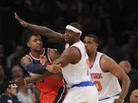 Knicks beat Wizards for 10th straight time, 108-87