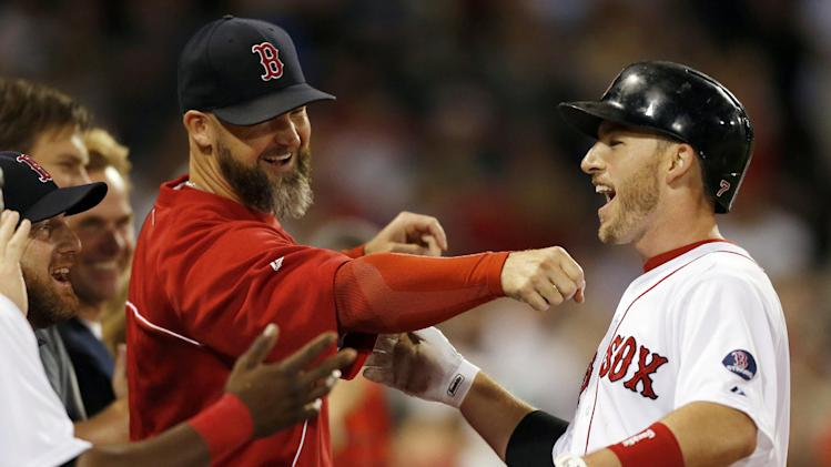 Red Sox clinch playoff berth, beat Orioles 3-1