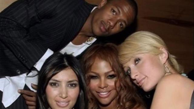 Nick Cannon Shares Throwback Pics From When He Dated Kim Kardashian -- and Kanye West Makes an Appearance!
