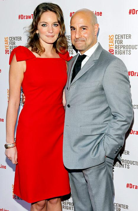 "Stanley Tucci: Being Married to Felicity Blunt Is ""Great"""
